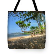 Kilauea View From Princeville Tote Bag