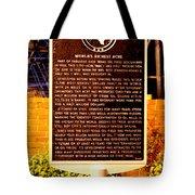 Kilgore Historical Marker Tote Bag