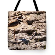 Killdeer Pitching A Fit Tote Bag