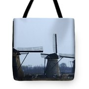 Kinderdijk Windmills 2 Tote Bag