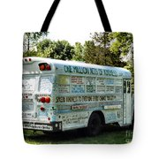 Kindness Bus 2 Tote Bag