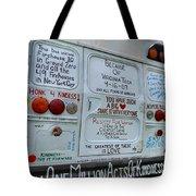 Kindness Bus 3 Tote Bag