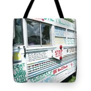 Kindness Bus 8 Tote Bag