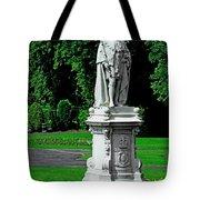 King Edward Vii Statue - Lichfield Tote Bag