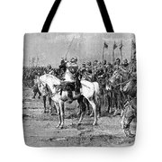 King Gustavus II Of Sweden Tote Bag