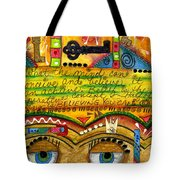 King Of Keys Tote Bag