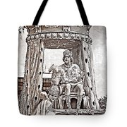 King Of Rex - Painted Bw Tote Bag