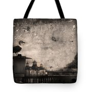 King Of The Pier Tote Bag