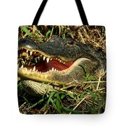King Of The Swamp Tote Bag