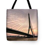 King Rama Bridge Bangkok Tote Bag