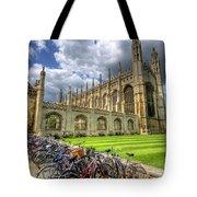 Kings College Cambridge Tote Bag