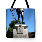 Kings Royal Rifle Corps Memorial In Winchester Tote Bag