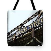 Kinzie Street Stop - Chicago Tote Bag