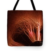 Kirlian Photograph Tote Bag
