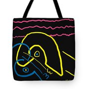 Kissing On The Beach Tote Bag