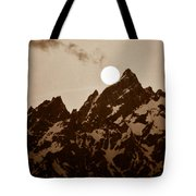Kissing The Teton Tote Bag