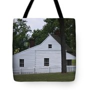 Kitchen And Slave Quarters Appomattox Virginia Tote Bag