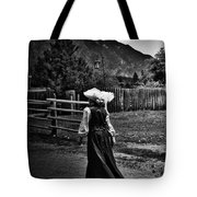 Kitchen Curtsy  Tote Bag
