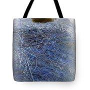 Kitty Blue Tote Bag