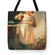 Kitty's Breakfast Tote Bag