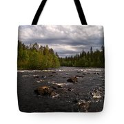 Kiutakongas At Oulankajoki Tote Bag