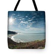 Klamath Overlook With Sun Tote Bag
