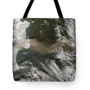 Klyuchevskaya Volcano Tote Bag