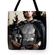 Knight In Shining Armour Tote Bag by Yedidya yos mizrachi