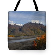 Knik River Tote Bag