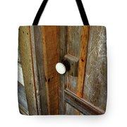 Knock At The Door Tote Bag