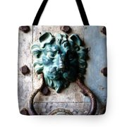 Knocker From Leeds Castle Tote Bag