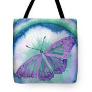 Knowingness Butterfly Tote Bag