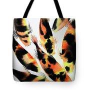 Koi Action Tote Bag