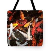 Koi Fish Movement Iv Tote Bag