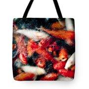 Koi Fish Movement Vi Tote Bag