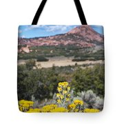Kolob Terrace Red Buttes Tote Bag