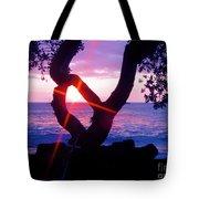 Kona Sunset Hawaii Tote Bag