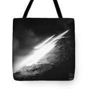 Korean War: Rocket Launch Tote Bag