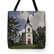 Kostel Panny Marie Lourdske Tote Bag