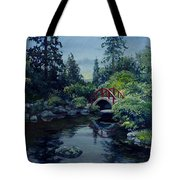Kubota Reflections Tote Bag