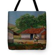 La Dama Del Rio Tote Bag