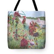 La Maison Et Le Jardin De Monet Tote Bag