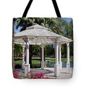 La Quinta Park Gazebo Tote Bag