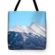 La Sal Mountains 111 Tote Bag