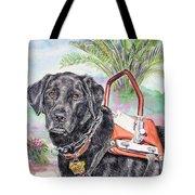 Labrador Retriever Service Dog Tote Bag