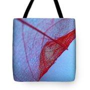 Lace Leaf 3 Tote Bag