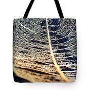 Lace Leaf 4 Tote Bag