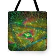 Lacy Rainbow Triangle Tote Bag