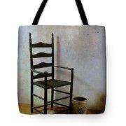 Ladderback Tote Bag by Judi Bagwell