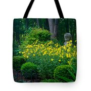 Lady Among The Blossoms Tote Bag